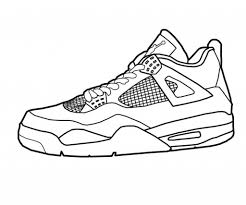 Jordan Shoes Coloring Sheets - pulsers.info | pulsers.info