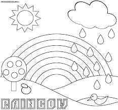 Small Picture Rainbow coloring pages Coloring pages to download and print