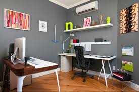 Home Office Colors How To Add Splashes Of Color Your Home Office ...