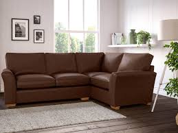 Best leather sofa Brown Leather Lincoln Corner Sofa 179940 Ms Thomas Lloyd 10 Best Leather Sofas The Independent