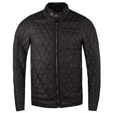 belstaff new bramley 2 0 quilted moto jacket in black