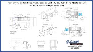 food truck floor plans. Full-Outline-foot-food-truck-floor-plan-Prestige- Food Truck Floor Plans U