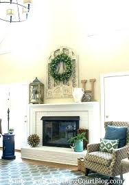 fireplace wall decor ideas brick decorating mantel how to decorate a electric firepl