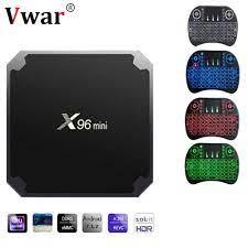 X96 Mini Android 7.1 Akıllı Tv Kutusu Amlogic S905W Quad Core WiFi 2.4 GHz  X96mini Set Top Box 4 K HD Set -top Box Media Player Tv Alıcıları -  Unitsgear.news