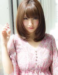 小顔効果ミディアムヘアyr 366 ヘアカタログ髪型ヘア