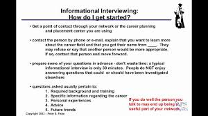 Good Questions To Ask In An Informational Interview Conducting Informational Interviews