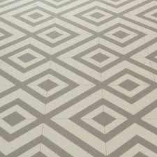 Patterned Vinyl Floor Tiles
