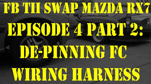 de pinning fc wiring harness episode 4 part 2 fb tii swap mazda rx7 fc3s wiring harness at Rx7 Fc Wiring Harness