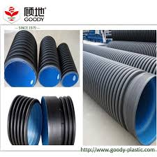 china hdpe double wall perforated corrugated drainage pipe china drain pipe pe pipe