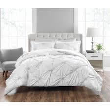 nicole miller clairette 3 piece technique king comforter set