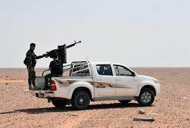 Afbeeldingsresultaat voor pick-up trucks in Syria