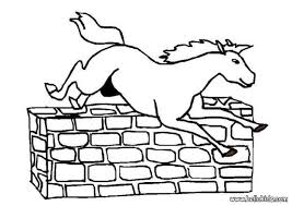 horses jumping coloring pages. Perfect Horses For Horses Jumping Coloring Pages N