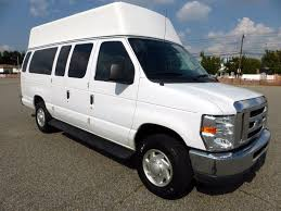 ford van. 2011 ford e350 ext. wheelchair high top ambulette van for adult medical transport mobility ada k
