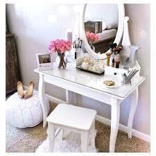 vanity tables with storage dressing table makeup vanity set with storage