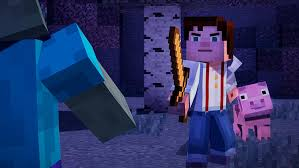 amazon com minecraft story mode a telltale games series