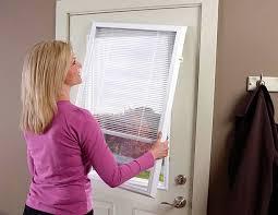 entry door mini blinds. odl add-on blinds for doors 1/2 doorlite entry door mini i