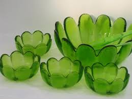 green glass salad bowl. Plain Green In Green Glass Salad Bowl H