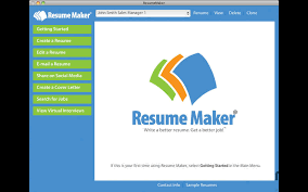 Resumemaker Gorgeous Resume Maker 4848 Purchase For Mac MacUpdate