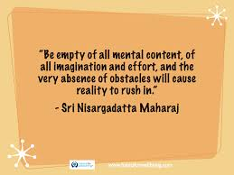 20 Inspirational Quotes By Sri Nisargatatta Maharaj