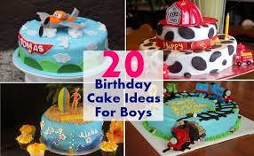 20 Awesome Birthday Cake Ideas For Boys Bash Corner