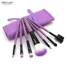 7pcs kits makeup brushes professional set cosmetics brand makeup brush tools foundation brush for face