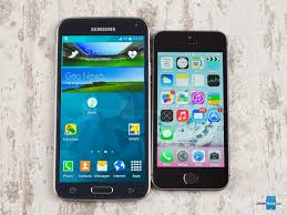 Samsung Galaxy S5 Comparison Chart Samsung Galaxy S5 Vs Apple Iphone 5s Phonearena