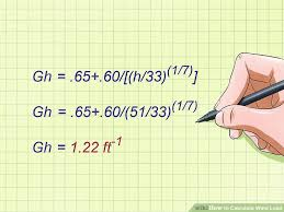Wind Load Chart The Best Ways To Calculate Wind Load Wikihow
