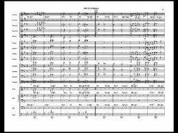 Dear Old Stockholm Big Band Chart Arranged By Jim Martin