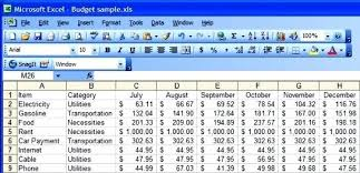 sample personal budget sample excel budget personal budget excel sample yearly personal