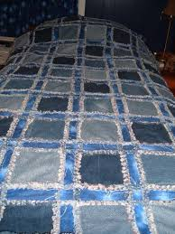 49 best images about quilts on Pinterest   Bandanas, Quilt and ... & A new take on a denim quilt Adamdwight.com