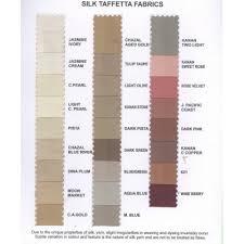 River Silks Color Chart 28 Colours In Production Silk Taffeta Shade Chart
