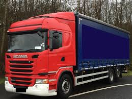 curtainsider truck scania g320 picture 1