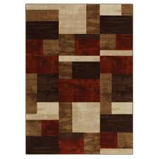 extremely kmart area rugs essential home gallery rug collection modern geo chocolate