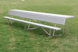 bench with shelf. Player Bench With Storage Shelf
