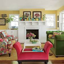 Happy Colors For Living Room