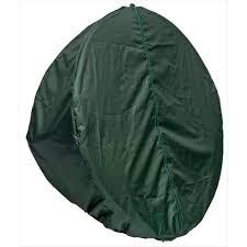 globo single pod chair cover green as hammock