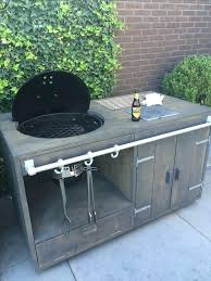 weber grill table charcoal grill outdoor kitchen designs weber grill side table plans