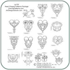 heart shaped patterns