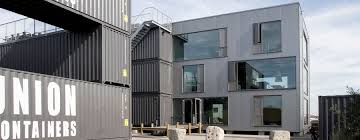 Shipping containers office 20 Foot Arcgency Uses Stacked Shipping Containers To Offer Sustainable Affordable Office Space Swamplot Arcgencys Shipping Containers Offer Sustainable Office Space