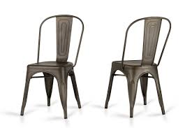 modern metal dining chairs.  Dining Dining Chairs Elan  Modern Rust Metal  In Chairs E