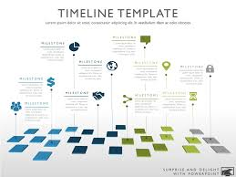 product timeline template pin on web design