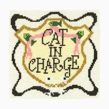 Imaginating Cross Stitch Charts Cat In Charge