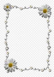 Picture Frame Design Png Floral Border Design Png Download 904 1280 Free