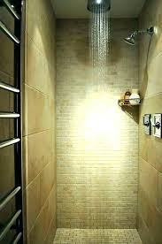 stand up shower ideas small bathroom two person walk designs ide