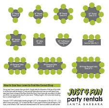 linen sizing guide just 4 fun party als