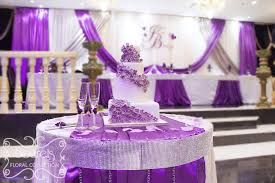 wedding decorations for tables. Purple Wedding Reception Table Ideas Cake Decorations \u2026 For Tables