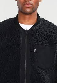 2017 new levi s line 8 line 8 er jacket black 100 polyester mens clothing