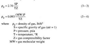 Specific Gravity And Density Oil Gas Process Engineering