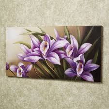 beautiful flower paintings on canvas beautiful flower painting on simple square frame with cute purple