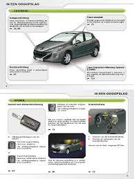 Handboek Peugeot 308 Nederlands Manual Transmission Automatic